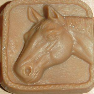 Goat Milk Soap Horse Head
